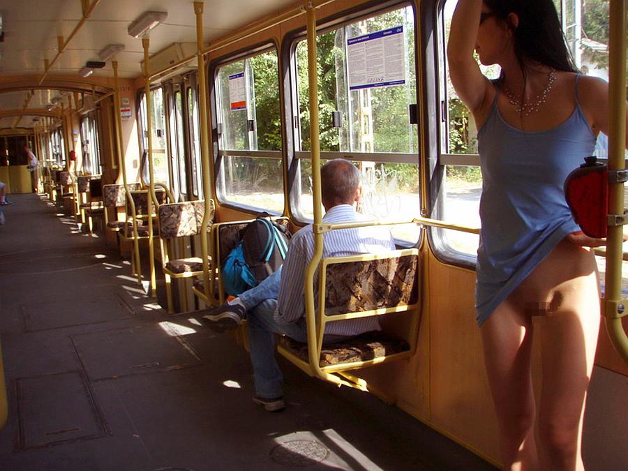 запах только девушка показывает себя в автобусе всего, интересует