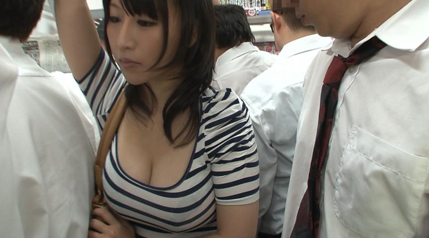 【確信犯】巨乳のくせに満員電車に強引に乗り込んでくる女wwwwwwwwwwwwwwwwwwwwwww(画像あり)・2枚目
