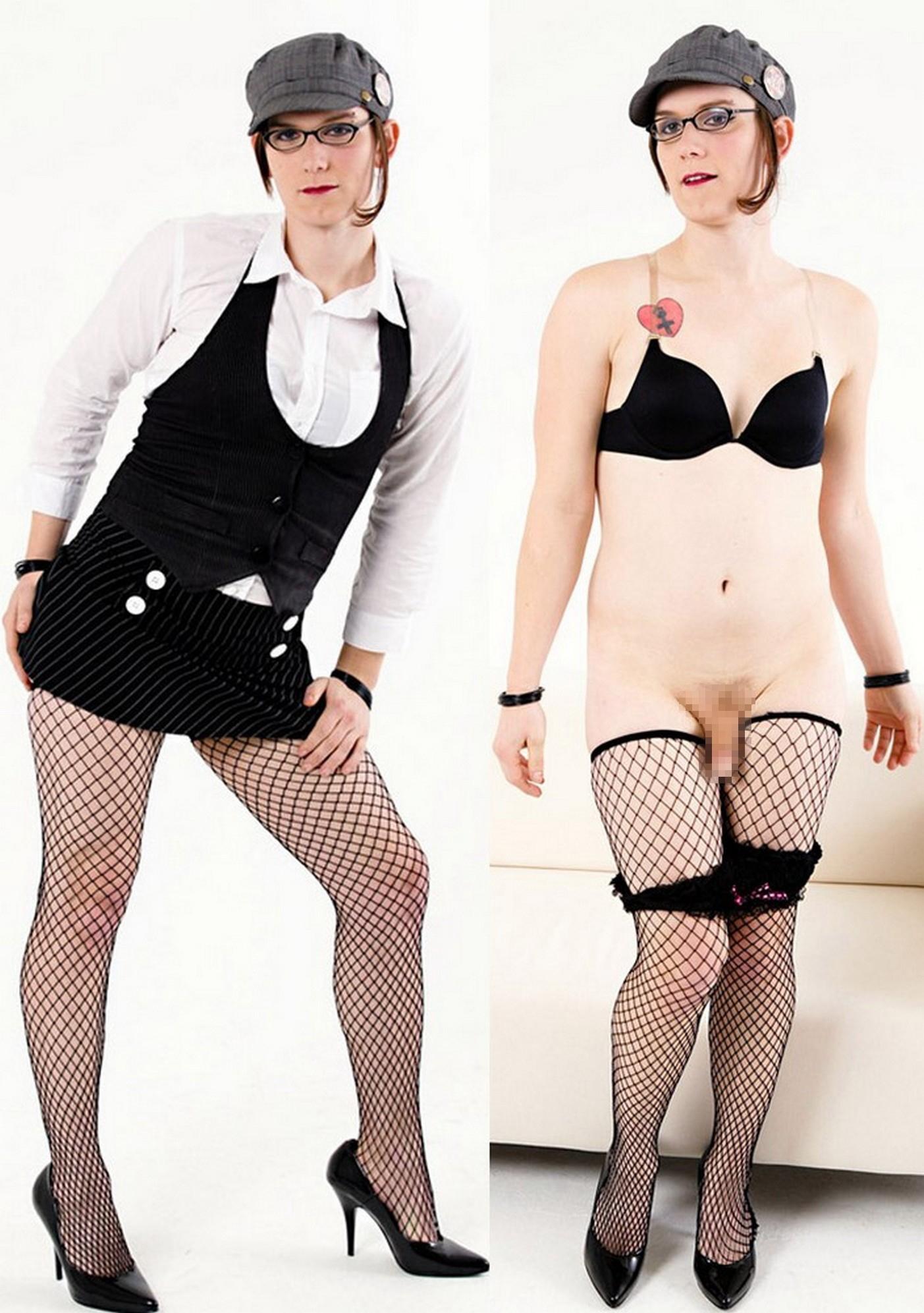ニューハーフの私服姿と脱いだ後の比較画像スレ ←おまえらコレ見ても抱かないって言えんの???(画像あり)・5枚目