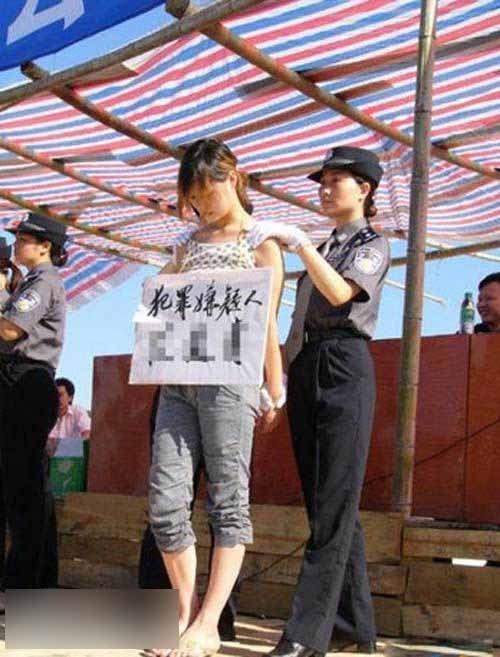 【閲覧注意】中国田舎の極刑の様子、、、余りにもひどい。 こんなに流れ作業で殺すんか。。。(画像24枚)・11枚目