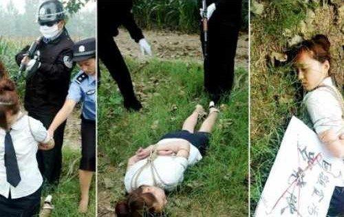 【閲覧注意】中国田舎の極刑の様子、、、余りにもひどい。 こんなに流れ作業で殺すんか。。。(画像24枚)・16枚目