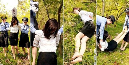 【閲覧注意】中国田舎の極刑の様子、、、余りにもひどい。 こんなに流れ作業で殺すんか。。。(画像24枚)・21枚目