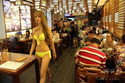 【マジキチ】ビール片手にシコシコwww 中国のセクシー居酒屋が有能すぎワロタwwwwwwwwwwwwwwwwwwwwww(画像あり)・14枚目