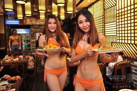 【マジキチ】ビール片手にシコシコwww 中国のセクシー居酒屋が有能すぎワロタwwwwwwwwwwwwwwwwwwwwww(画像あり)・16枚目