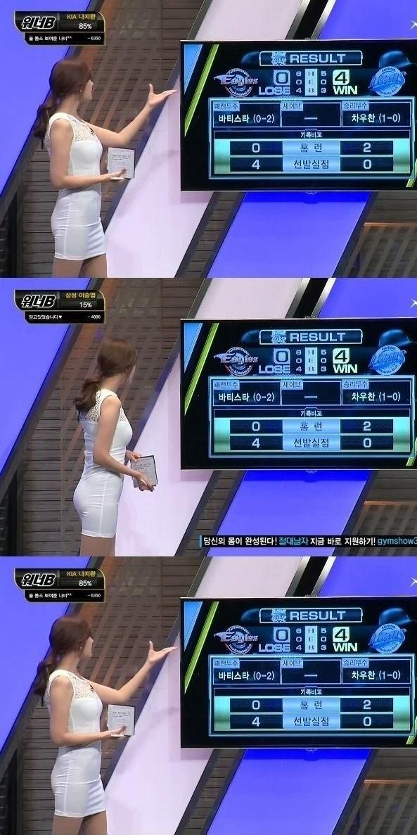 韓国の女性キャスター、ミニスカを強要されるらしい・・・・(画像あり)・15枚目