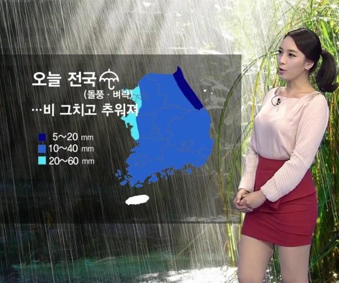 韓国の女性キャスター、ミニスカを強要されるらしい・・・・(画像あり)・7枚目
