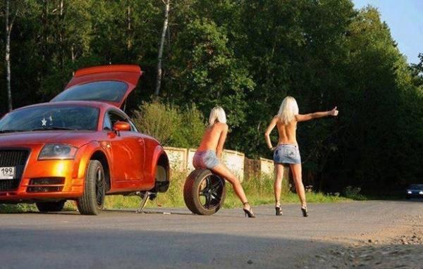 【急ブレーキ不可避】「へェ―イ!」海外で絶対に止まってくれるヒッチハイクの方法がコレwwwwwwwwwwwww(画像あり)・8枚目