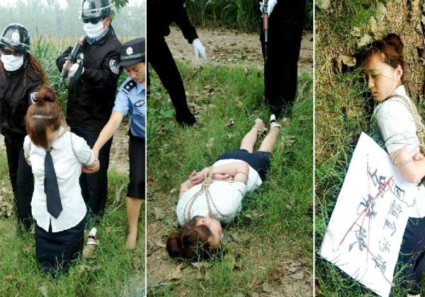 (閲覧注意)中国農村部の女性死刑囚の死刑執行、、、雑杉内?(写真あり)