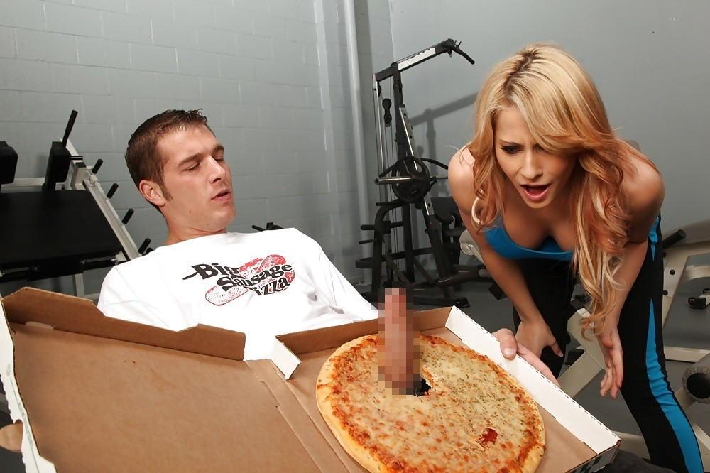 【エロ画像】センス抜群、エロ面白いエロ画像が集まるスレwww「センスの塊」「手間暇かかってて草」「ちんこピザが雑で草」・16枚目