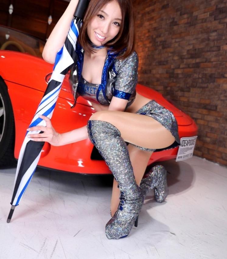 【ジャーーーーーーップ】海外のレースクイーンまんさんと日本人レースクイーンまんさんを比較してみた結果wwwwwwwwwww・12枚目