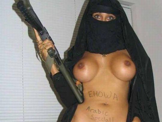 【エロ画像】特定されたら「死刑確定」ハイリスクすぎるイスラム教徒のエロ自撮り画像をご覧下さい。(画像30枚)・18枚目