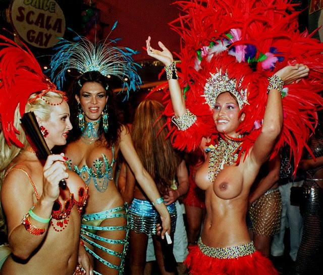 【エロ画像】世界最大の「露出祭り」サンバカーニバルとかいう祭りの様子wwwwwwwwwwwwwww・13枚目