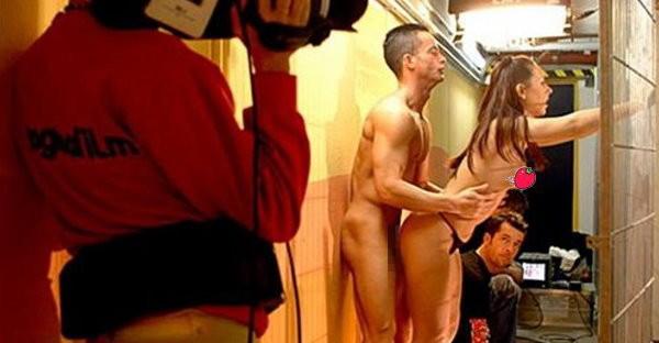 【エロ画像】本場ポルノ動画の撮影現場の様子。ん~~、これはエンターテインメントwwwwwwww・15枚目