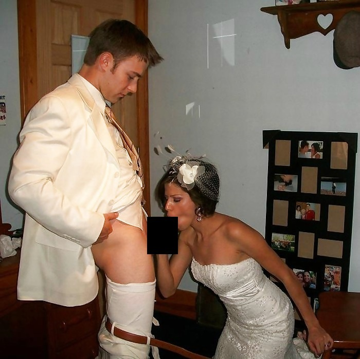 【エロ画像】変態カップルが結婚式を行った結果。親族全員メンタルボロボロでワロタwwwwww・18枚目