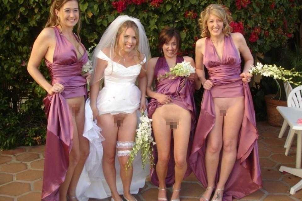 【エロ画像】変態カップルが結婚式を行った結果。親族全員メンタルボロボロでワロタwwwwww・20枚目