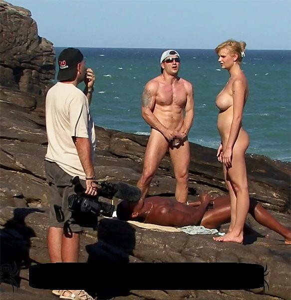 【エロ画像】本場ポルノ動画の撮影現場の様子。ん~~、これはエンターテインメントwwwwwwww・29枚目