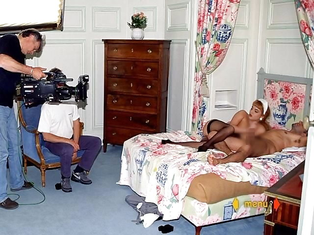 【エロ画像】本場ポルノ動画の撮影現場の様子。ん~~、これはエンターテインメントwwwwwwww・9枚目