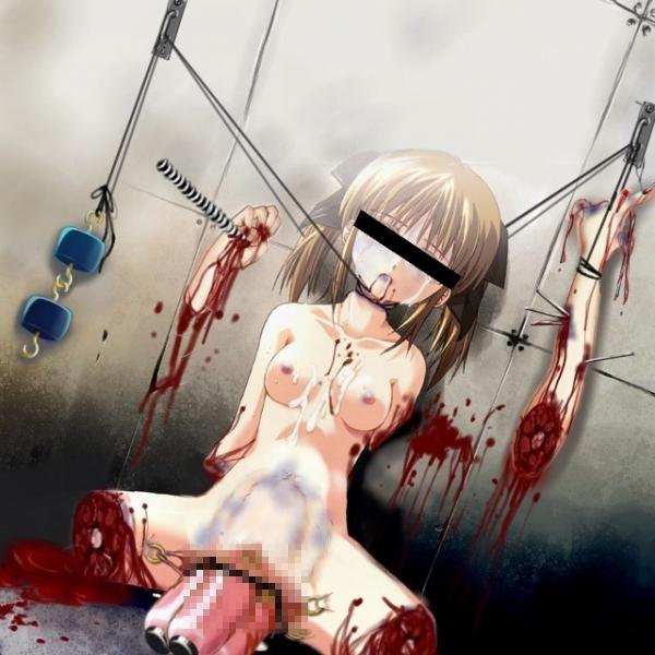 【閲覧注意】女が惨殺されてる瞬間で抜くというジャンル。正直キツイ・・・(画像30枚)・17枚目