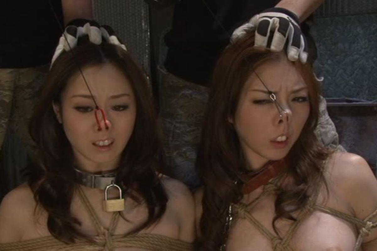 【過激】SMプレイで鼻フック使われた女をご覧ください。誰得やろwwwwwwwwwwwwwww・18枚目