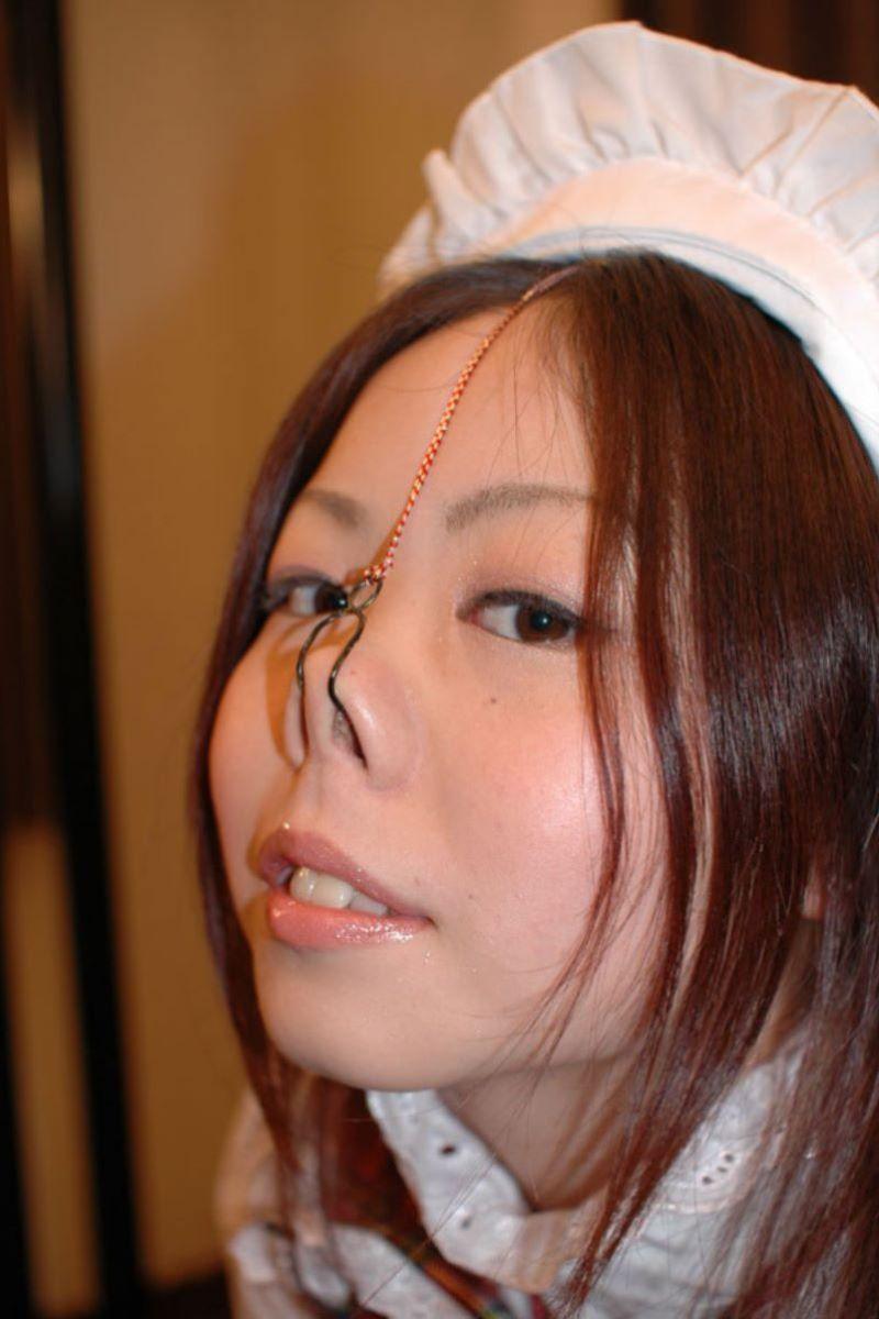 【過激】SMプレイで鼻フック使われた女をご覧ください。誰得やろwwwwwwwwwwwwwww・21枚目