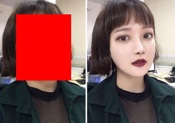 【詐欺】インスタ美女の写真修正技術が「プロ並みだろ」と話題の比較画像をご覧ください。。(画像あり)