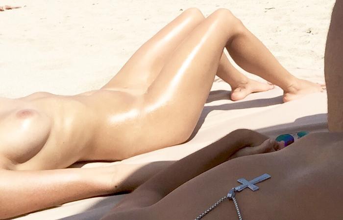 【エロ画像】ヌーディストビーチでやってはいけない事 No.1ってコレだよなwwwwwwwwwwwww・11枚目