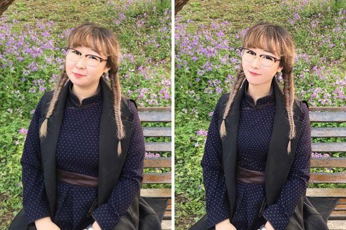 【詐欺】インスタ美女の写真修正技術が「プロ並みだろ」と話題の比較画像をご覧ください。。(画像あり)・26枚目