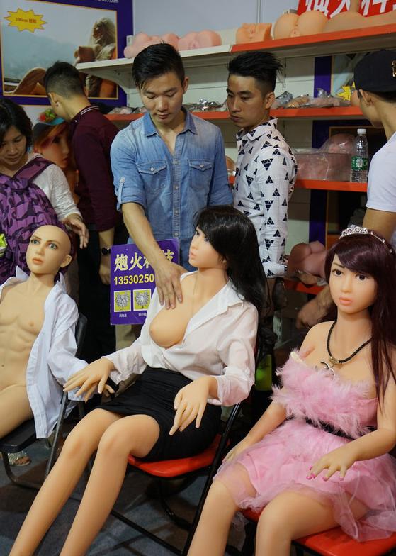 【画像あり】中国で開催された「性の展覧会」メディアでは絶対に扱えないエロさでワロタwwwwwwwwwwwwww・14枚目