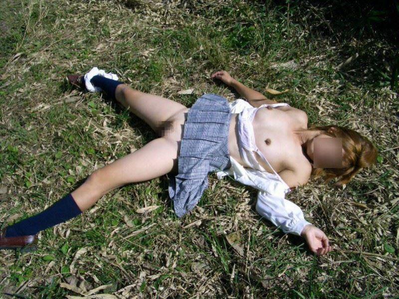 【レイプ事後】散々弄ばれた後あっさり捨てられた哀れな女たちがコチラ。(画像あり)・2枚目