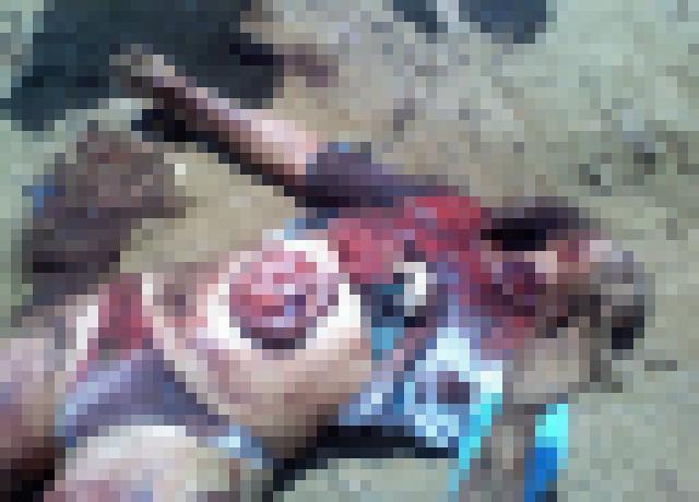 【閲覧注意】このレイプ後に殺害された女性の遺体見てチンポ反応したやつ病院行けよwwwwwwwwwwww(画像あり)・3枚目