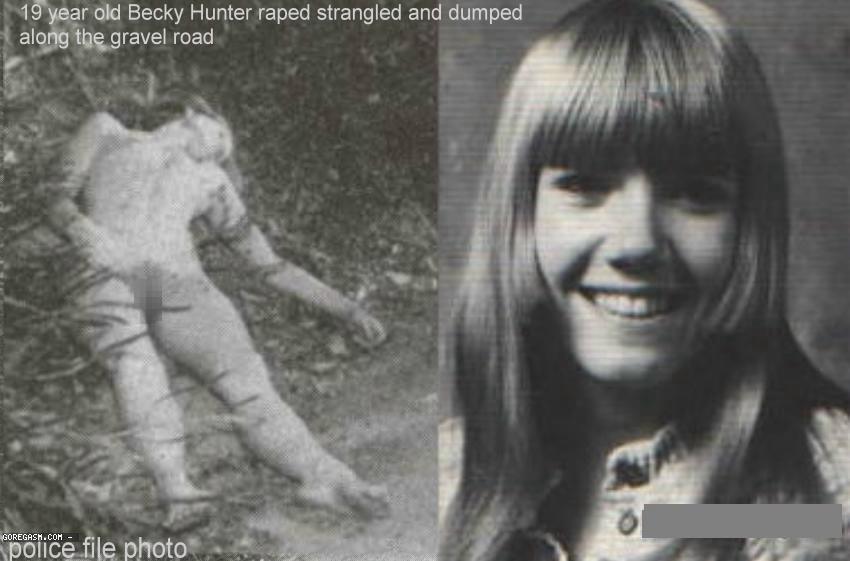 【超閲覧注意】レイプ殺人被害者のビフォーアフター、、、絶句レベル。(画像あり)・3枚目