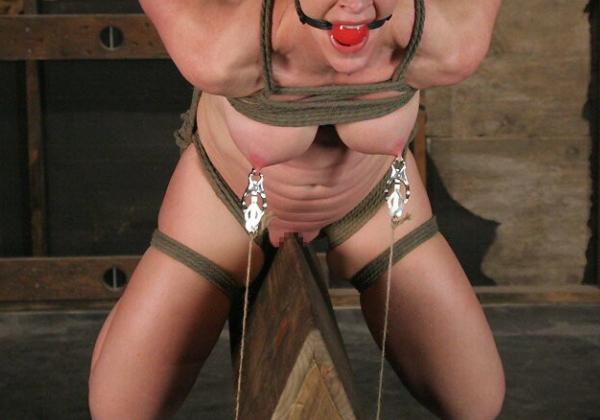 【閲覧注意】ガチの三角木馬とかいう拷問器具怖すぎwwwwwwwwwww(画像あり)