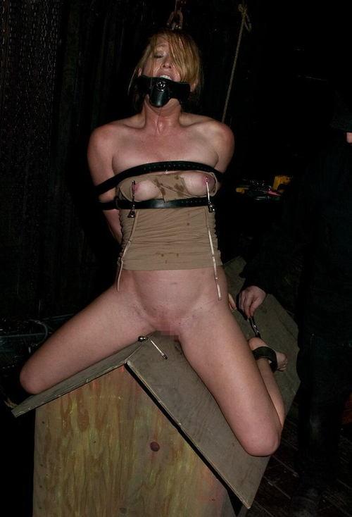 【閲覧注意】ガチの三角木馬とかいう拷問器具怖すぎwwwwwwwwwww(画像あり)・22枚目