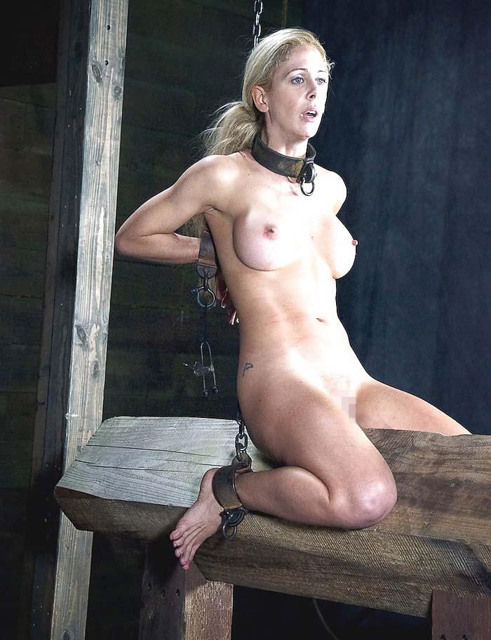 【閲覧注意】ガチの三角木馬とかいう拷問器具怖すぎwwwwwwwwwww(画像あり)・28枚目