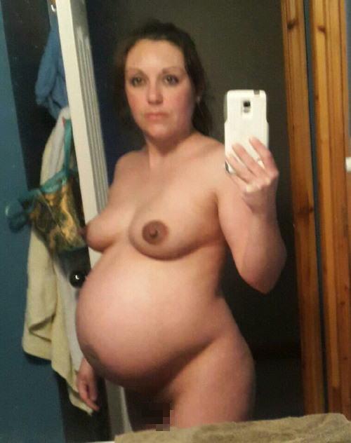 【エロ画像】「妊娠って神秘よね。パシャッ!」結果 → マニアの抜きネタにされるwwwwwwwwww・14枚目
