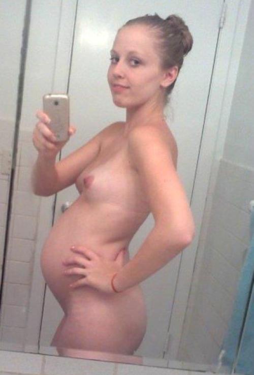 【エロ画像】「妊娠って神秘よね。パシャッ!」結果 → マニアの抜きネタにされるwwwwwwwwww・22枚目