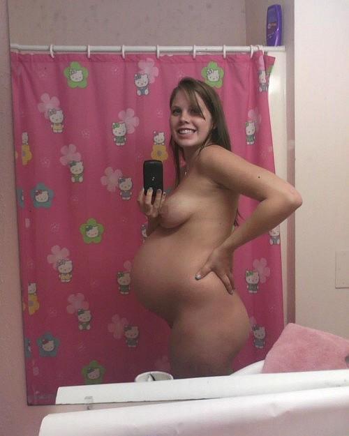 【エロ画像】「妊娠って神秘よね。パシャッ!」結果 → マニアの抜きネタにされるwwwwwwwwww・29枚目