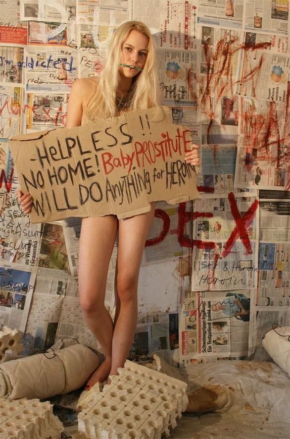 【閲覧注意】薬物中毒の女の写真やばくね?wwwwwww・14枚目