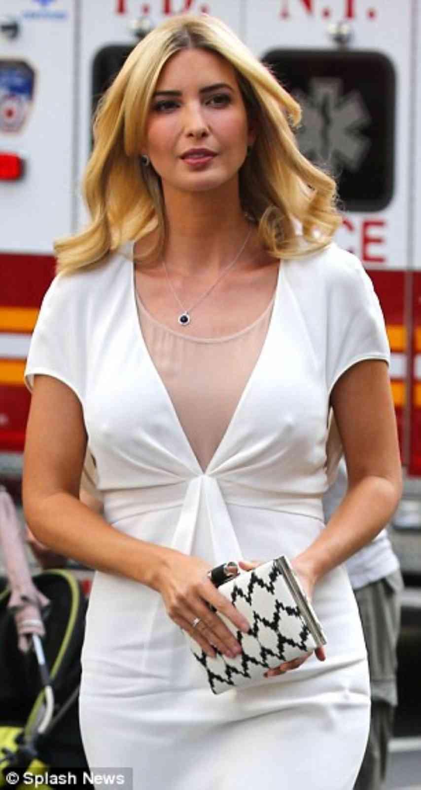 トランプの娘(イヴァンカ・マリー・トランプ)の乳首をご覧くださいwwwwwwww(画像あり)・11枚目