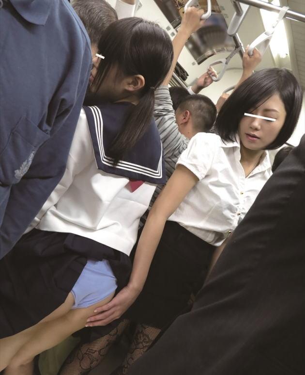 【悲報】安心しきった女性専用車両で痴漢に襲われたまんさん、撃沈wwwwwwww(画像あり)・24枚目