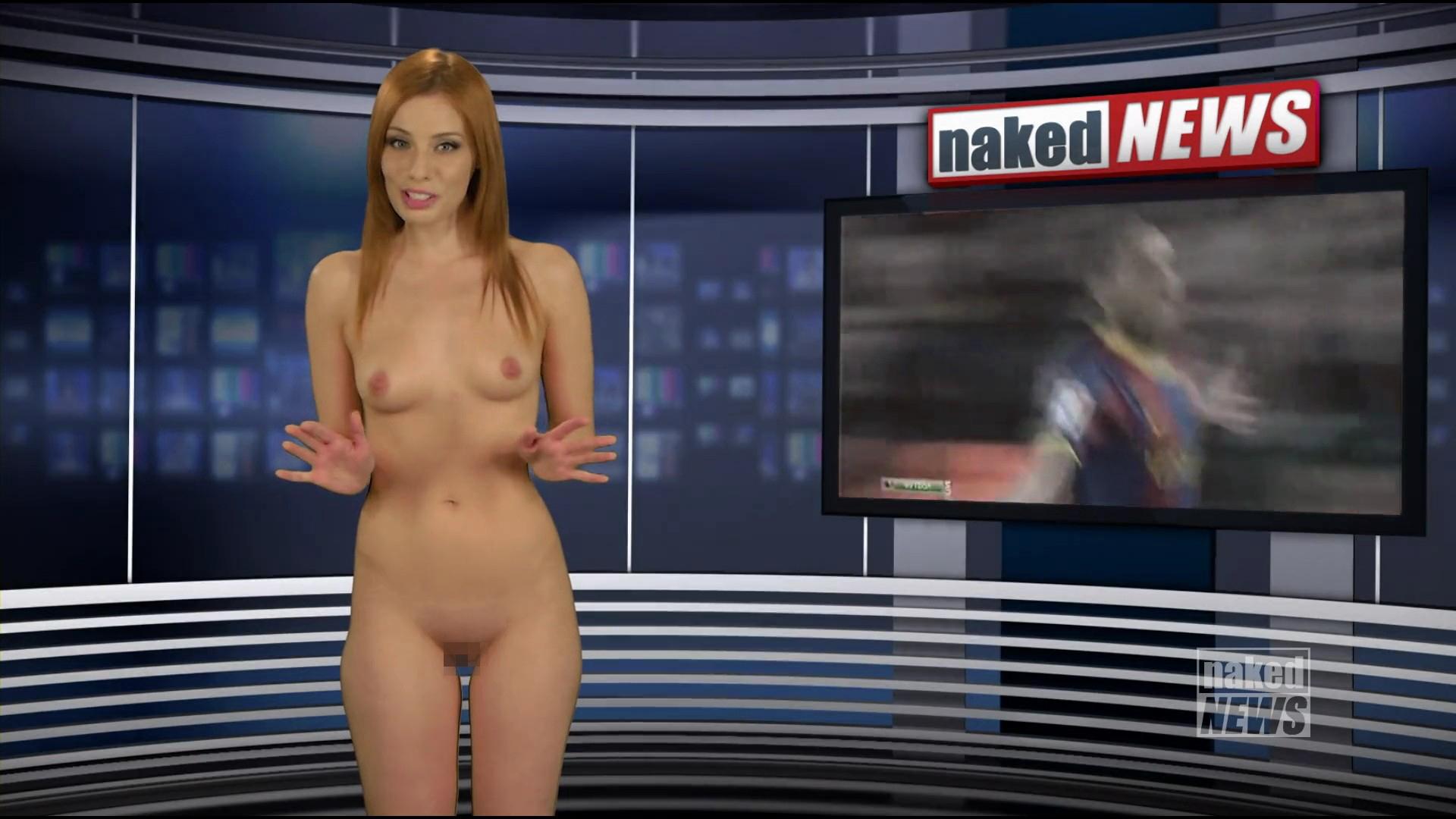 【悲報】海外の女子アナさん、全裸報道で視聴率を稼ぐwwwwwwwwwwww(画像あり)・25枚目