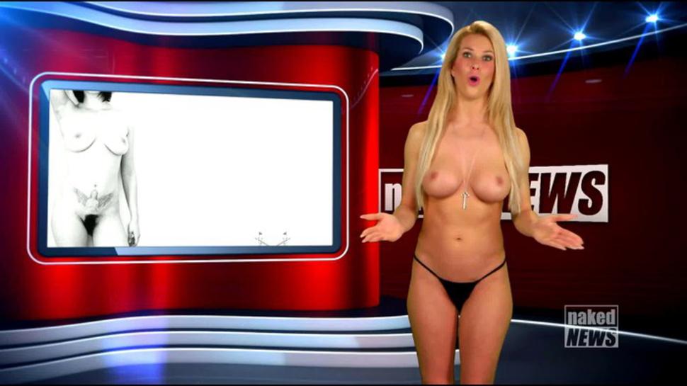 【悲報】海外の女子アナさん、全裸報道で視聴率を稼ぐwwwwwwwwwwww(画像あり)・27枚目
