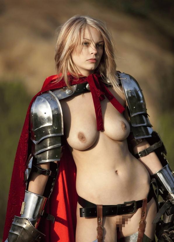【画像あり】「甲冑ヌード」とかいう甲冑とエロを融合した鎧女をご覧くださいwwwww・3枚目