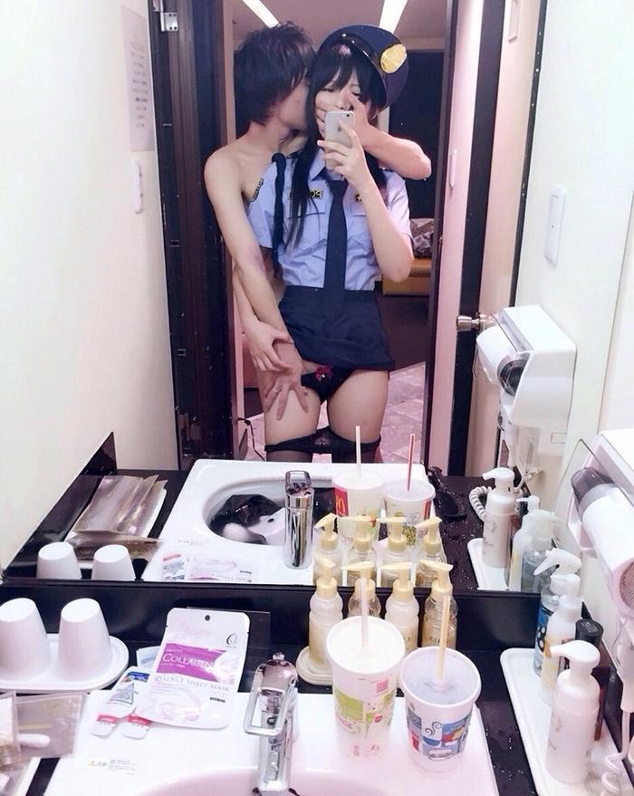 【勃起不可避】人気中国人レイヤーMisa呆呆のハメ撮り画像が流出wwwwwwwww(画像あり)・38枚目