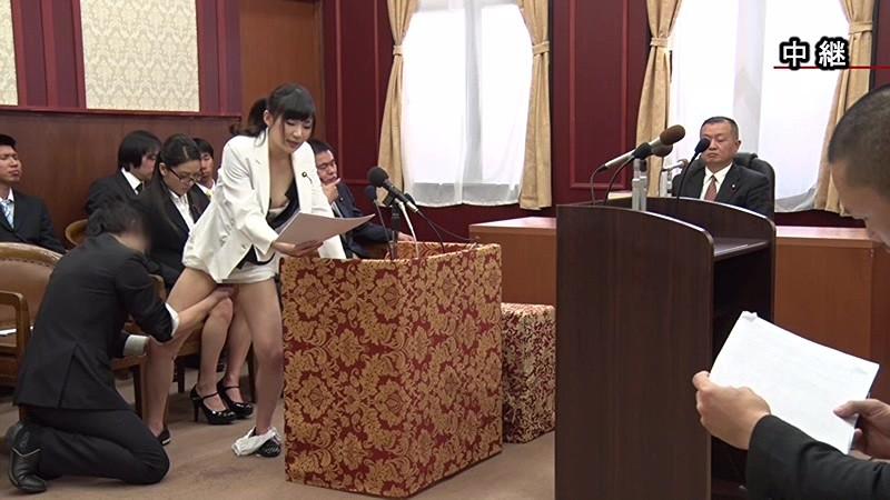 国会中継中に女性議員にセクハラする伝説の放送事故がこちら。(画像あり)・1枚目