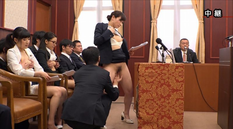 国会中継中に女性議員にセクハラする伝説の放送事故がこちら。(画像あり)・10枚目