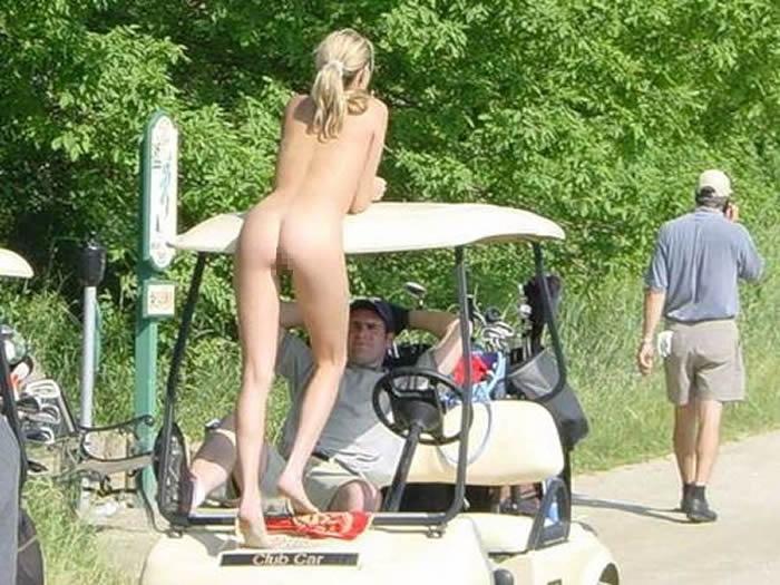 密かに開催されるお金持ち向け全裸ゴルフをご覧くださいwwwwwwwwww(画像あり)・11枚目