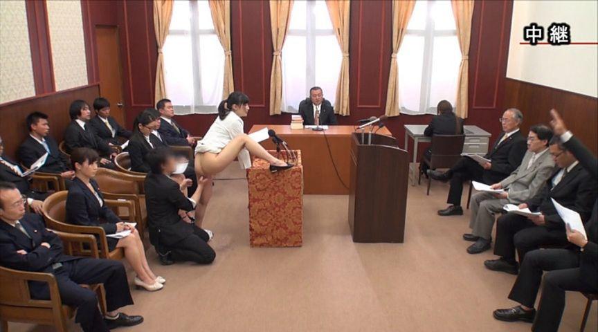 国会中継中に女性議員にセクハラする伝説の放送事故がこちら。(画像あり)・13枚目