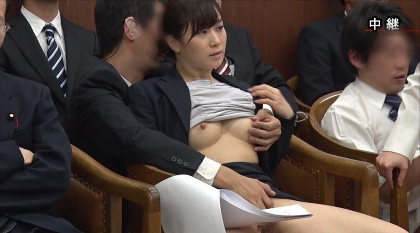 国会中継中に女性議員にセクハラする伝説の放送事故がこちら。(画像あり)・19枚目