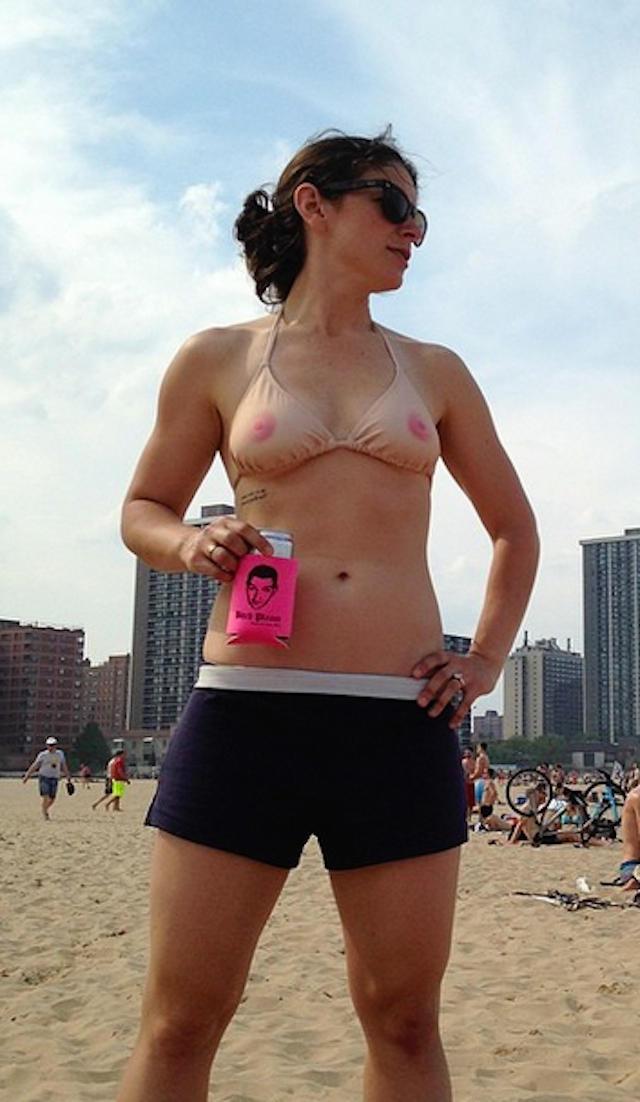 ピンク乳首が丸見えなこのタイプのセクシー水着・・・・・これは発狂不可避wwwwwwww(画像あり)・24枚目